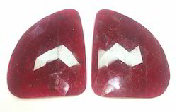 Ruby Rose Cut Pair