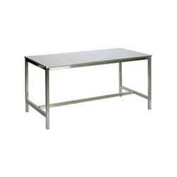 Rectangular Stainless Steel Table