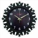 Crown Brown Wall Clock