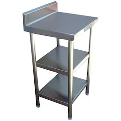 Stainless Steel Spreader Table, For Commercial Kitchen, Size: 450X600X800X150mm