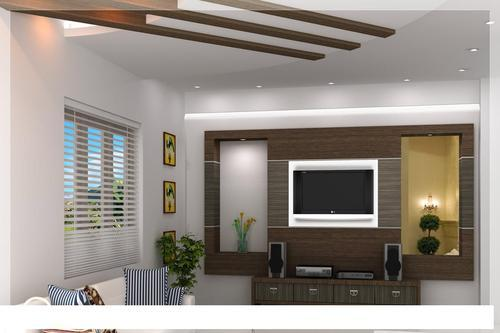 Office Interior Designer Tv Wall Unit Manufacturer From