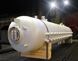 Natural/Metallic Water Steam Drum, For Industrial, Capacity: 5000 L
