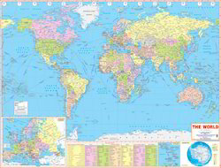Manufacturer of world map educational school charts by indian world map gumiabroncs Choice Image