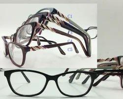 Acetate Acetate Eyeglass Frame