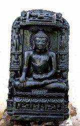 Marble Black Museum Buddha Statue