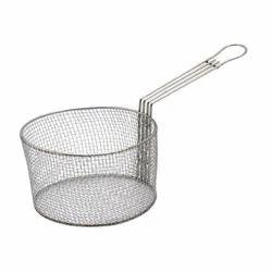 Stainless Steel Mesh Fry Basket