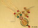 Laxmi Temple Pendant Sets