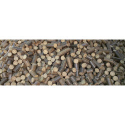 Soya Husk Biomass Briquettes, for Boiler, Thickness: 90mm