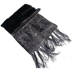 Black Fancy Scarf