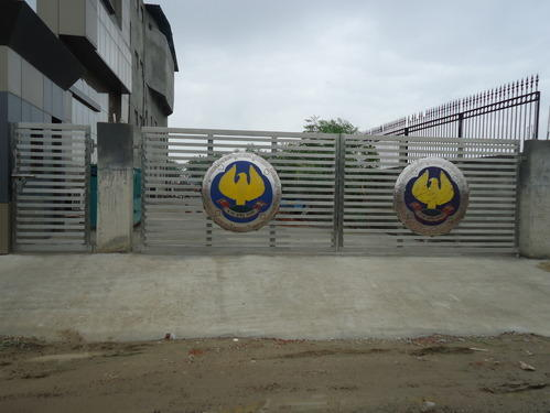 Modern Stainless Steel Gates for Hotel