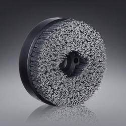Punched Disc Brush (Mild Deburring brush)