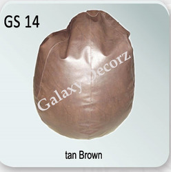Tan Brown Bean Bag