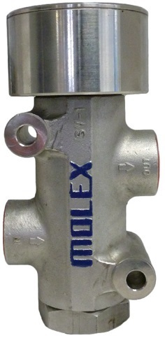 Molex Air Operated Stop Valve, Size: 1inch