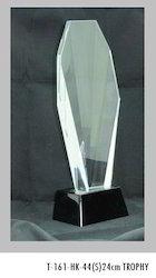 24cm Crystal Trophies