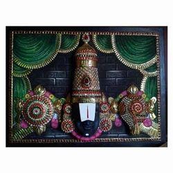 Ezhumalaiyan / Balaji Tanjore Painting