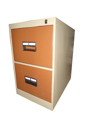 Plastic Handle 2 Drawer Vertical Filing Cabinet