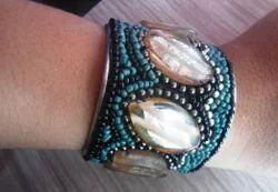 Bead Work Party Fancy Bracelet, Packaging Type: Box