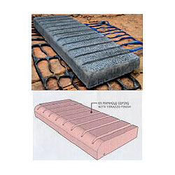 K. K. Concrete Granite Finish Coping