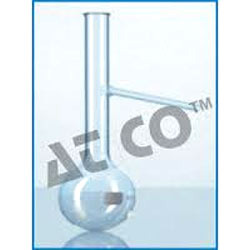 Distillation Flask with Side Tube