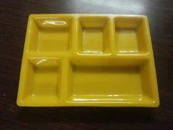 Acrylic 5 Portion Plate