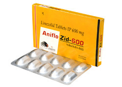 Aniflozid-600 Linezolid 600 mg, For Antibiotic, Prescription