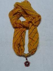 Yellow Stole with Pendent