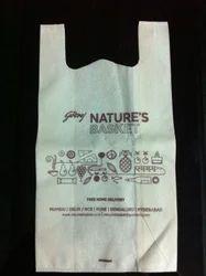 Non Woven Fabric Flexo Printed Carry Bags