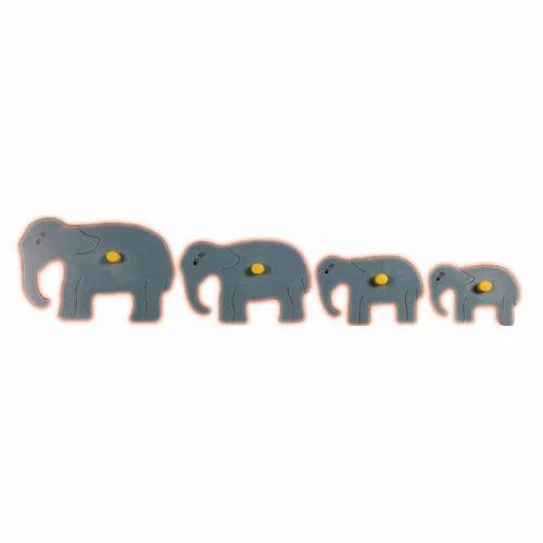 Size Seriation Puzzle - Wooden Elephant Seriation Puzzles ...