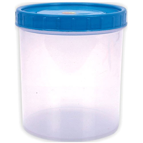 Silver Clear Plastic Container, Capacity: 500 To 1800 Ml, Rs 9 ...