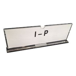 Table Top Acrylic Name Plate