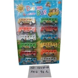 Pull Back Dreams Bus Toys