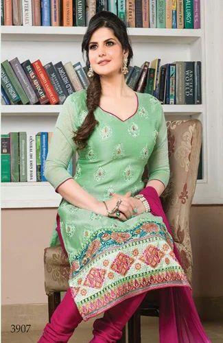 5c28f961d8 Purple Zareen Khan Designer Salwar Kameez at Rs 860 /piece ...