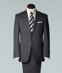 Plain 2-Piece Suit Corporate Suit