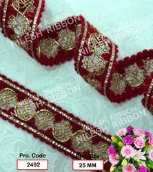 Fancy Zari Border Lace