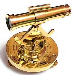 Brass Alidade Telescope
