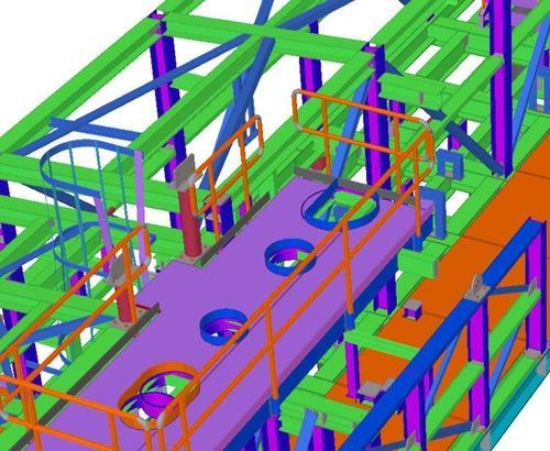 Structural Engineering - Tekla Steel Detailing Service Provider from