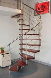 Stainless Steel Spiral Railings