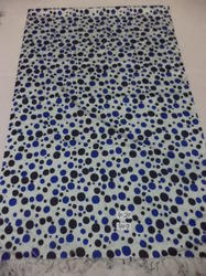 Pure Silk Polka Dot Printed Stoles