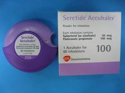 Asthma Medicine Seretide Accuhaler 100 Export Oriented