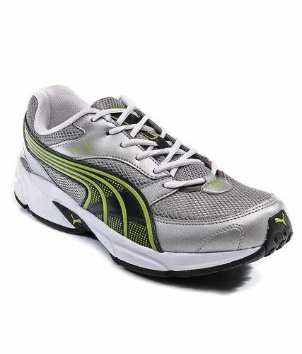 07e711ecb677 Puma Silver   Lime Pluto Dp Sport Shoes at Rs 1999  piece