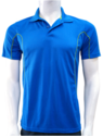 Reebok Royal Blue Collar Neck T-shirt