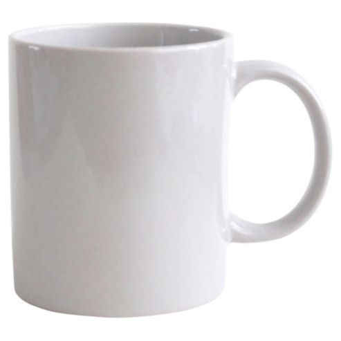 Plain White Mug Sublimation Coffee Tea Mugs