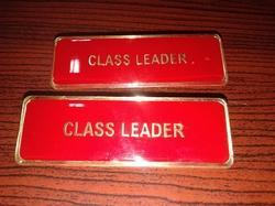 Metal Badges with Chemical Lamination
