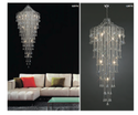 Diyas Double Floor Chandelier Inana