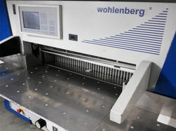 Automatic Wohlenberg Paper Cutting Machine