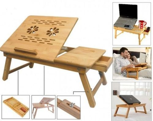 Furniture Portable Multipurpose Laptop Wooden E Table