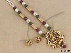 Designer Temple Pendant Sets