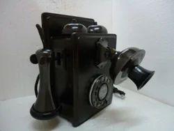 Antique Wall Mount Telephone with Original Shrill Ringtone