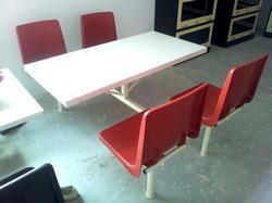 Canteen Table Four Seater