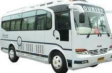 24 Seater Deluxe Mini Bus Rent Service in Khairtabad